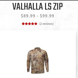 Men's Valhalla LS ZIP - Kryptek